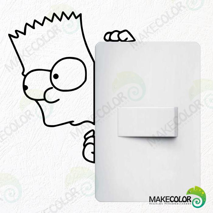 Vinilo Interruptor, Bart Simpson