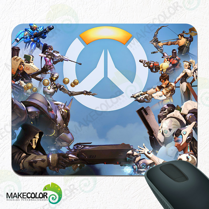 Mouse Pad Overwatch Héroes versus Anarquía